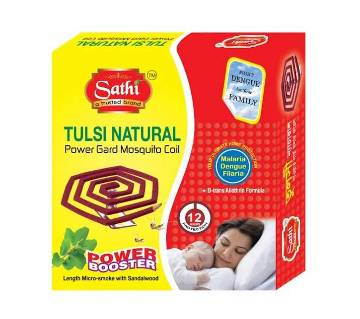 Tulshi Natural fragrant Mosquito Coil