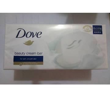 6pcs Dove Beauty Cream Bar soap - 100gm