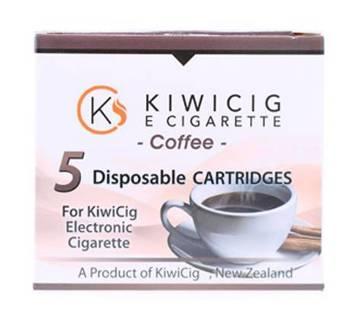 KiwiCig 5 Disposable Cartridges – Coffee