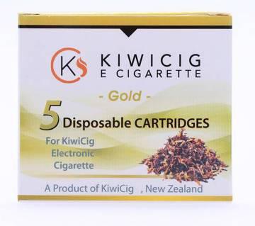 KiwiCig 5 Disposable Cartridges – Gold