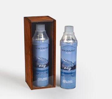 Bottled Pure New Zealand Air (8000 ml) - New Zealand
