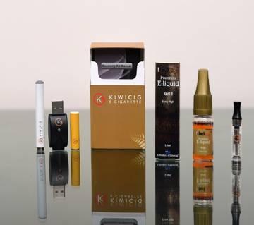 KiwiCig Economy Kit, Ultra, Liquid  Gold (Benson Flavour)