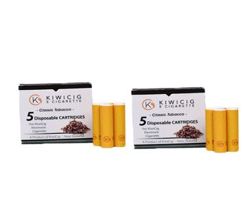 KiwiCig 2 Classic Tobacco Cartridge Package