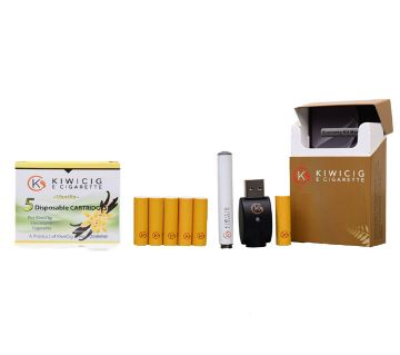 KiwiCig Economy Kit and Vanilla Cartridge Package (New Zealand)