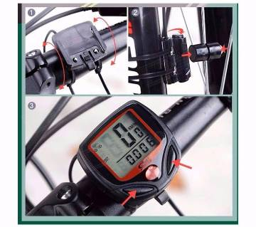 Bicycle speed meter