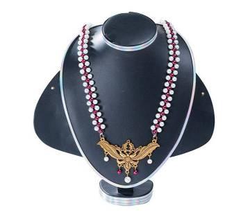 Multi Colour Artificial Pearl Necklace