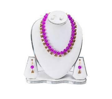 Megenda Color Artificial Pearl Jewelry Set