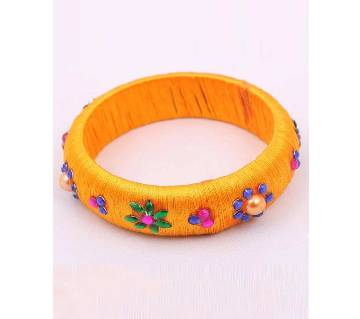 Silk Thread Single Bangle