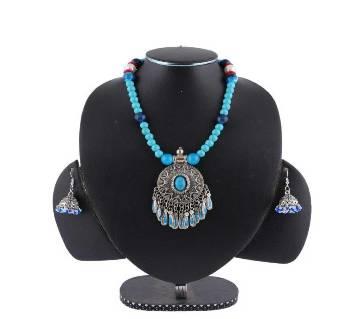 Multi Color Stone Setting Jewellary Set