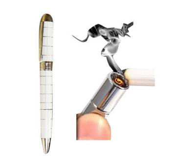 Pen with USB Rechargeable Electronic Ligter