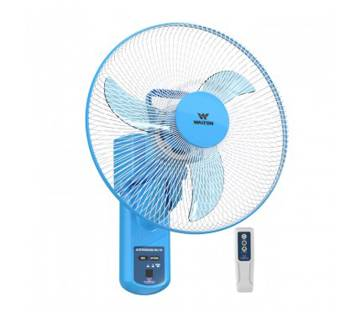 "Walton W16OA-RGC (Sky Blue) Rechargeable Wall Fan (16"")"