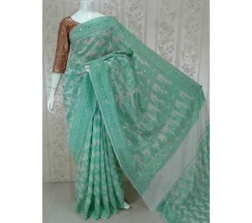 সিল্ক জামদানি শাড়ি বাংলাদেশ - 5510381