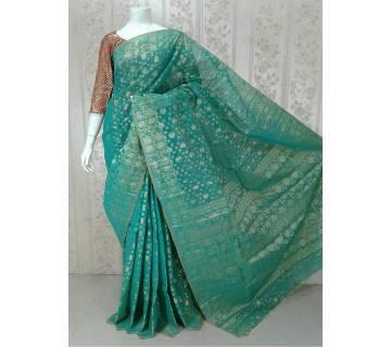জামদানি হাফ সিল্ক শাড়ি বাংলাদেশ - 5511431