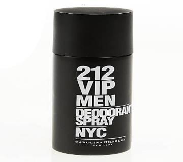 Carolina Herrera 212 Vip জেন্টস পারফিউম Deo Spray 150 ml Spain