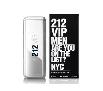 Carolina Herrera 212 VIP জেন্টস পারফিউম Eau de Toilette Spray Spain