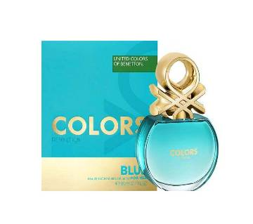 United Colors of Benetton Colors Be Benetton Blue Toilette Natural পারফিউম স্প্রে for women
