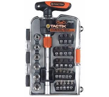 Tactix 31 পিসের Ratchet টি-হ্যান্ডেল সেট