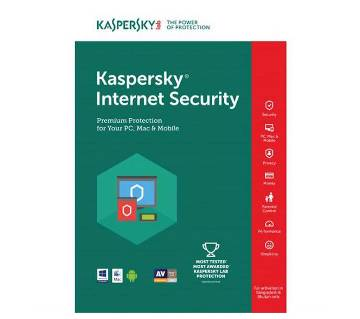 Kaspersky Internet Security 2018 (1PC)