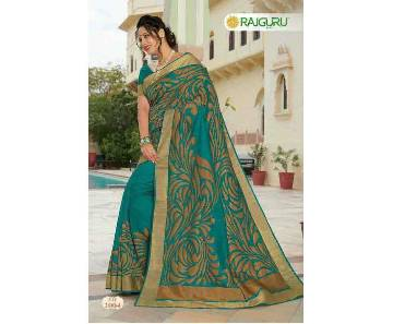 Rajguru Heena Royal tosor silk katan sharee