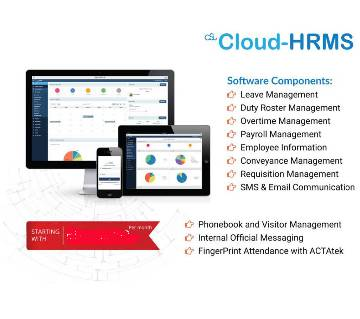 Cloud-HRMS (20 employee)