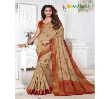 Party Raw Silk Pallu Saree