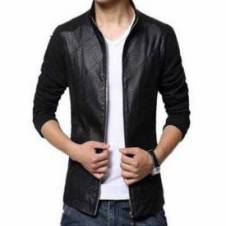 Full Slave Gentts Artificial Leather Jacket