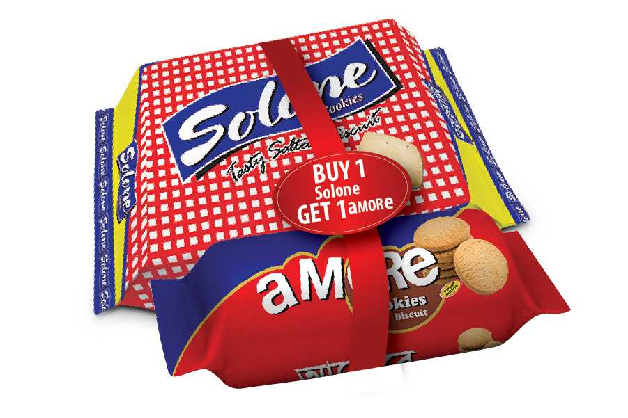 Dekko Solone Cookies (Free Amore Cookies) 345 gm