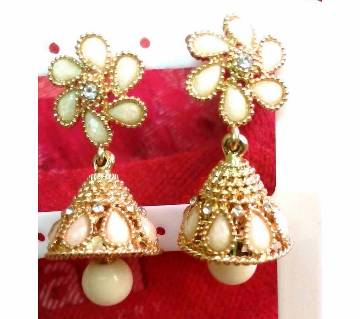 Ladies stone setting jhumka