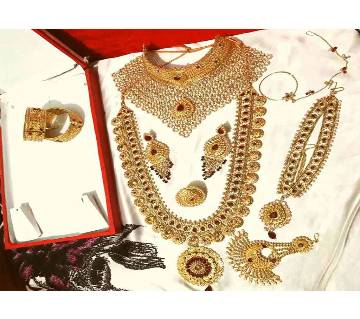 Gold plated Full bridal set