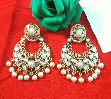Ladies kundon setting earrings