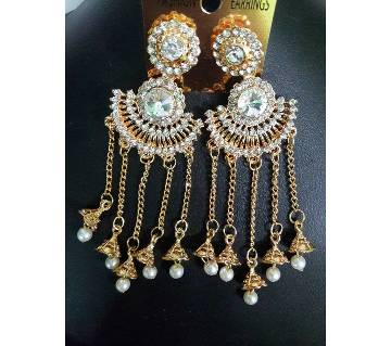 Bahubali ladies stone setting earrings