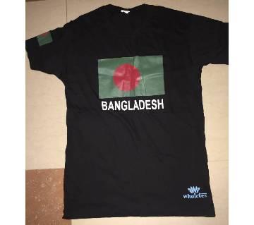 BANGLADESH প্রিন্টেড কটন টি-শার্ট ফর মেন