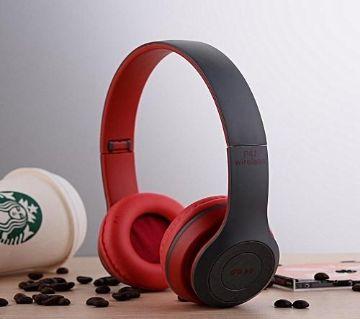 P47-Wireless Bluetooth Headphone-Red