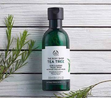 The Body shop Tea Tree ফেস ওয়াশ