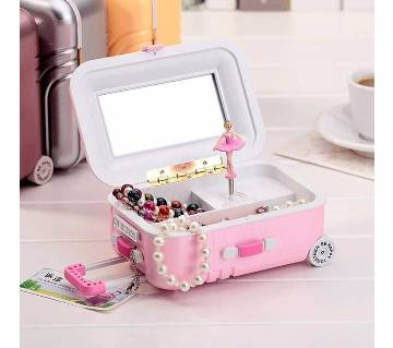 Musical Jewelry Trolley Box