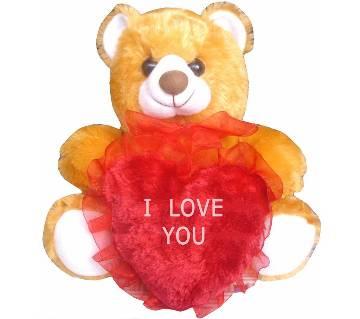 Heart shaped I Love you pillow