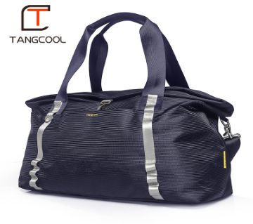 luggage man brand carry waterproof duffle travelling hand bag-Black,Gray,Blue-Tangcool