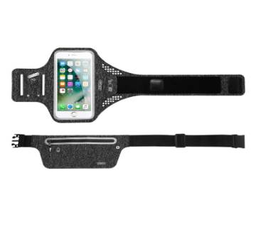 Joyroom Adjustable Running Belt Waist Pack for Walking, Cycling, Gym (Black)CY210 - Tecio