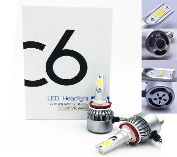 9005 HB3 72 W 7600LM COB Chip C6 faro LED 36 w 3800LM coche llev la bombilla del faro - Tecio