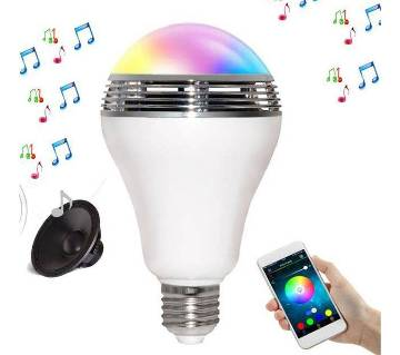 Wireless Bluetooth Speaker LED Bulb