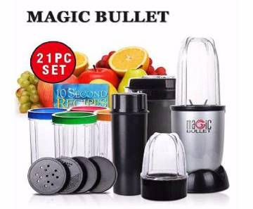 Magic Bullet Blender - set of 21 pieces