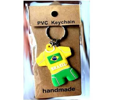 PVC Key Ring Brazil