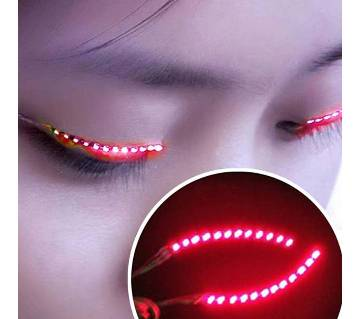 Red LED Eyelashes
