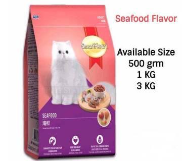 SmartHeart Cat Food Seafood Flavor