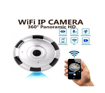 Wifi IP Camera ৩৬০° পেনারমিক Night Vision ক্যামেরা