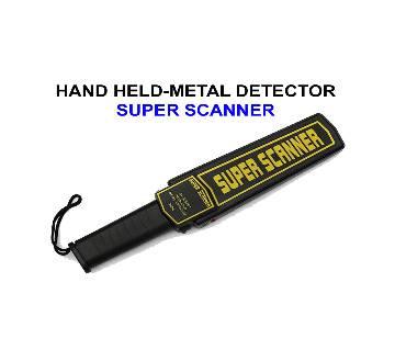 SUPER SCANNER হ্যান্ড মেটাল ডিটেকটর