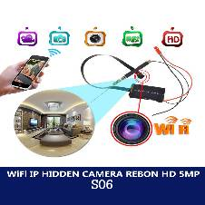 Wifi IP Camera Spy Ribbon 5MP HD S06