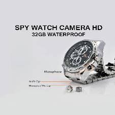 Spy Camera Watch Waterproof 5MP Malta-Belt