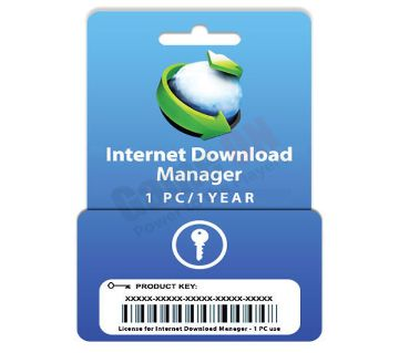 Internet Download Manager (Digital Key) 1PC/1Year License