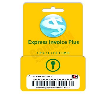 NCH Express Invoice Plus (Genuine License) 1PC/Lifetime License